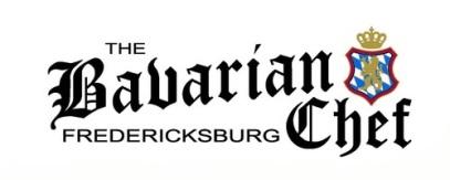 Bavarian Chef Fredericksburg Horiz Color Logo White Background